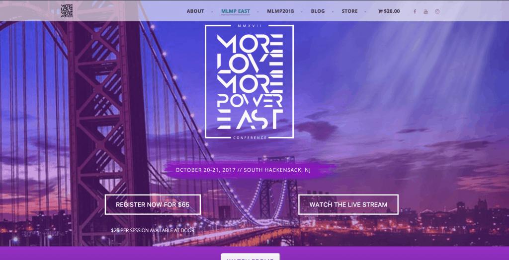 Website Design, Digital Marketing, Live Stream for conference event